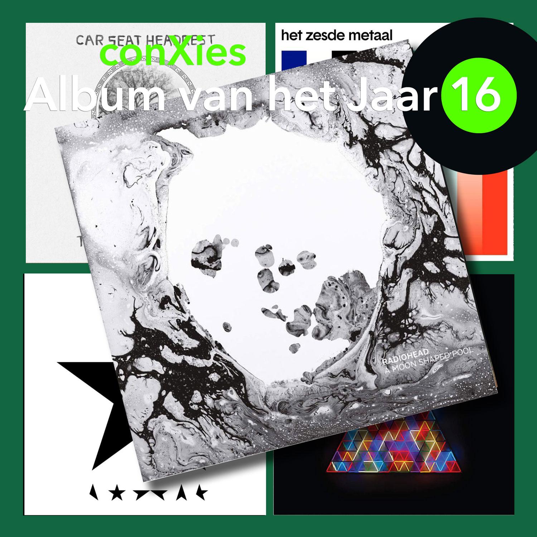 A Moon Shaped Pool van Radiohead is conXies' Album van het Jaar 2016!